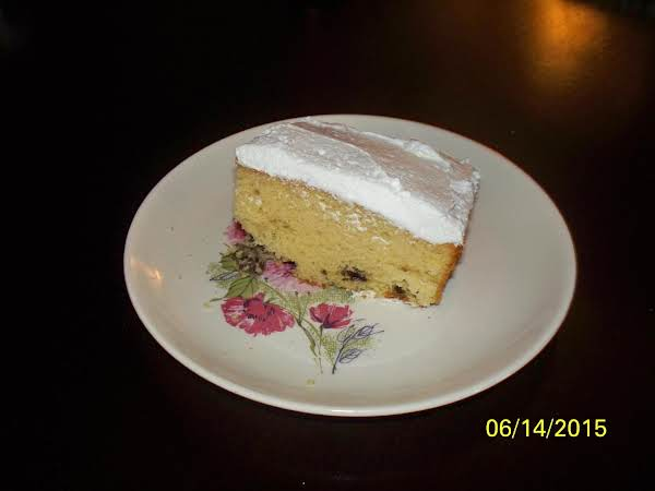 Don't Knock It Till You've Tried It Raisin Cake