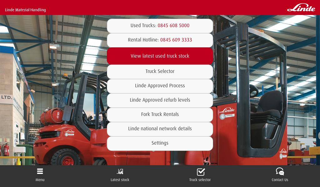 LindeMH UK Used and Rental- screenshot