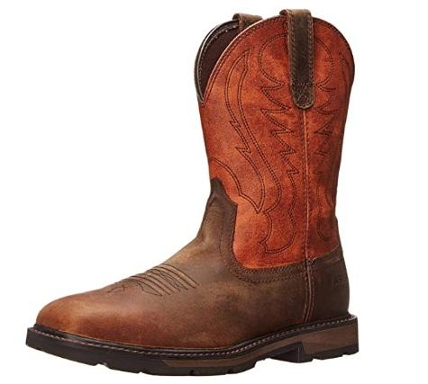 Ariat Groundbreaker Wide Square Steel Toe Work Boots