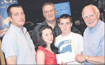 Photo: County Draw prize