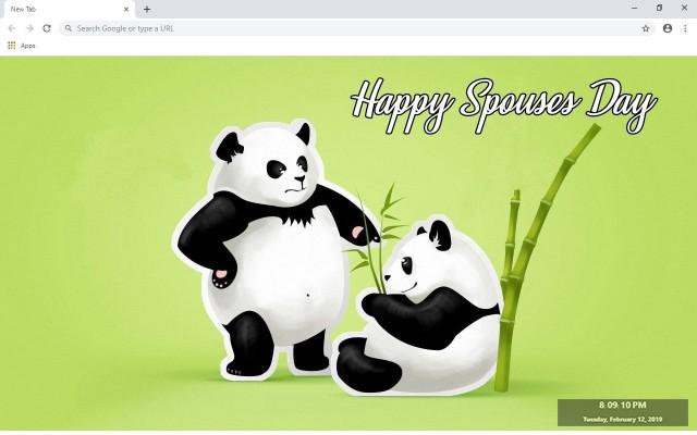Panda Custom New Tab