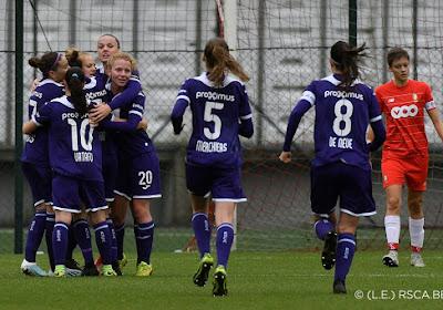 Anderlecht wint Clasico bij de vrouwen op bezoek bij Standard