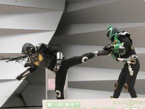 Photo: クレーガとジオンの対決。