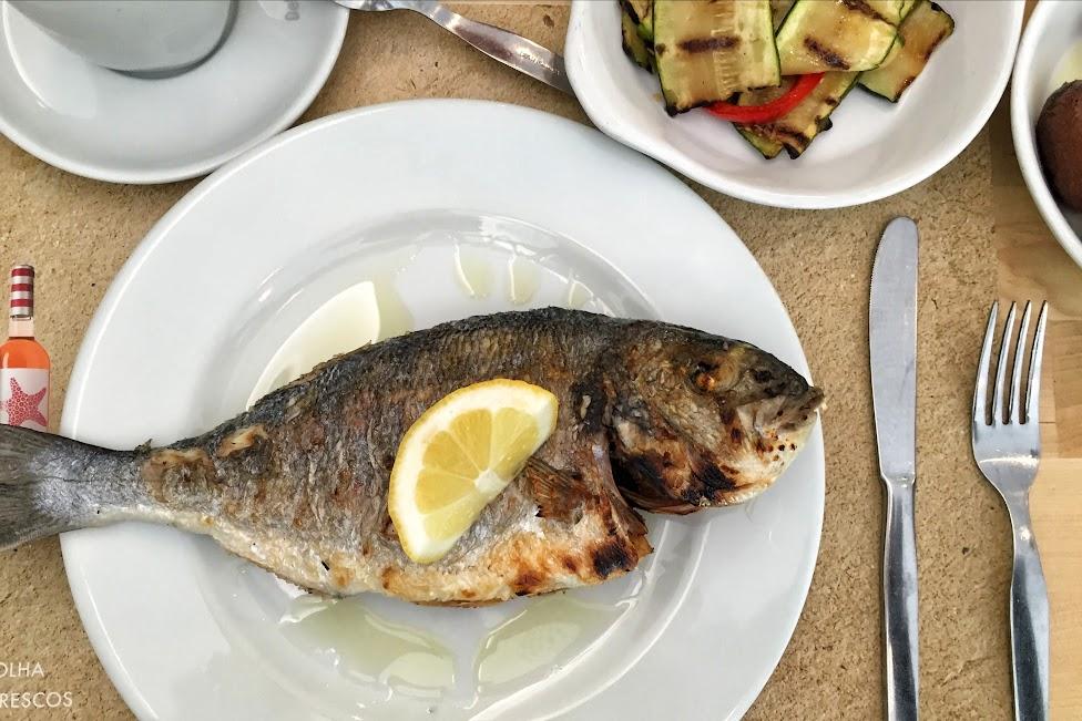 Portugalska kuchnia, obiad, ryba