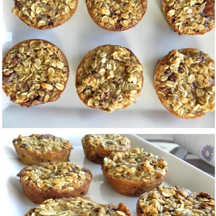 Low-Fat Banana Oatmeal Chip Muffin