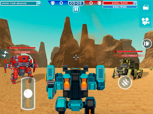 Blocky Cars - Online Shooting Game 7.3.12 screenshots 4