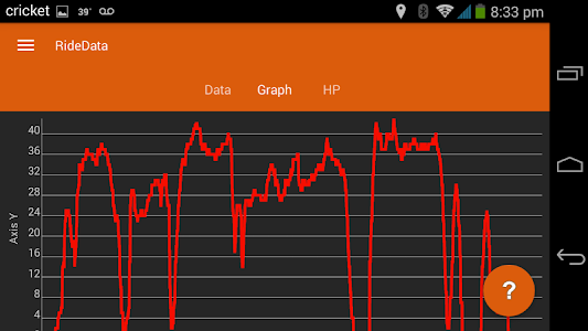 RideData Motorcycle Data Log screenshot 14