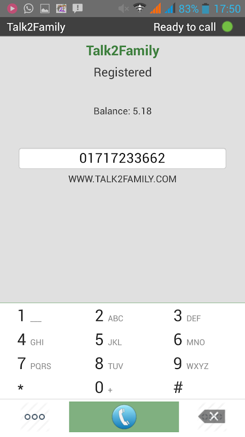Talk2family Platinum Lite- screenshot