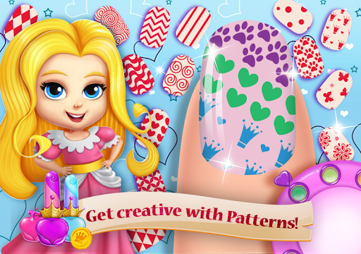 Princess Nail Salon Girls Game - Makeup Beauty Spa 2.1.4 screenshots 2