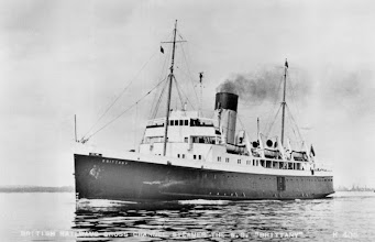 """Photo: ss """"Brittany"""", built for Jersey-St. Malo"""