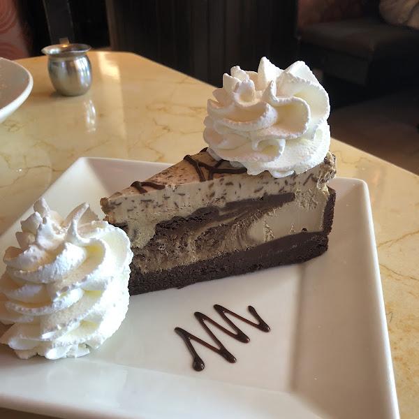 GF Coffee & Cream Cheesecake