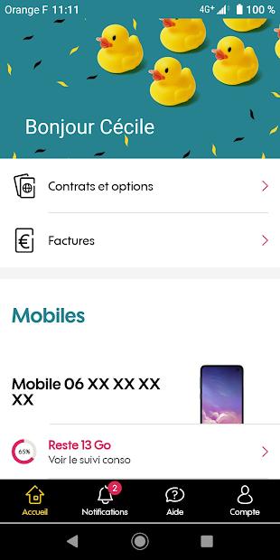 MySosh Android App Screenshot