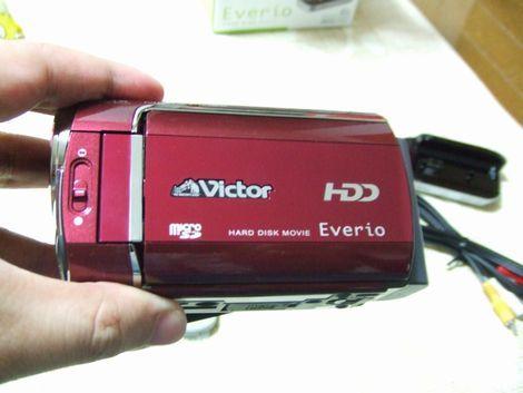 スマートな感じがオサレなVictor Everioを買った