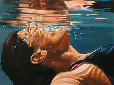 水の中を描くアーティスト「Eric Zener」