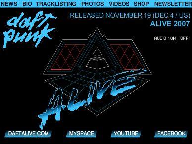 Daft Punkの新しいプロモーションはブログパーツで!