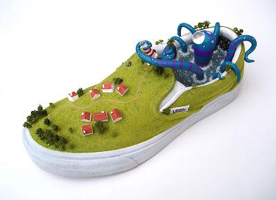スニーカー盆栽