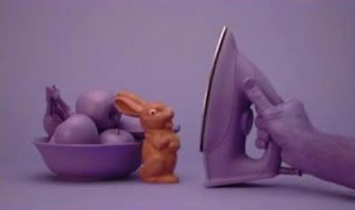 チョコレートのウサギさんが・・・