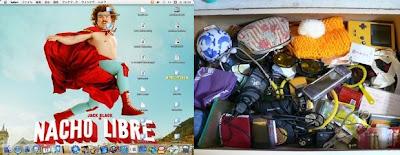 デスクトップがきれいな人はやっぱり机の中もキレイなんだね