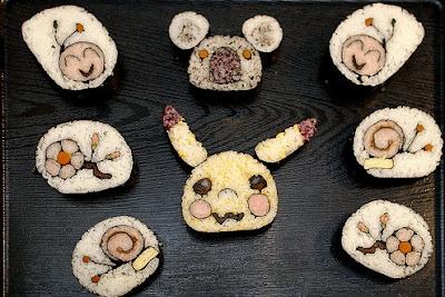 お寿司アート