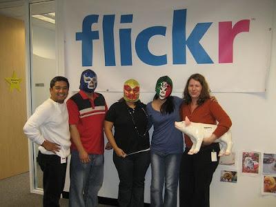 Twitter、Mozilla、Flickrなどなどのオフィスの写真