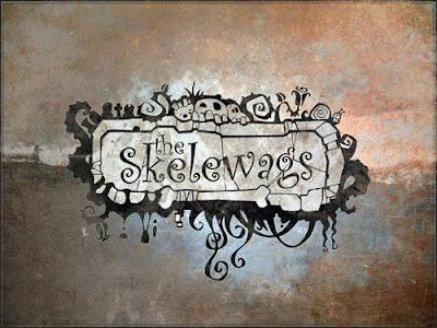 縁石がアートに化ける「Skelewags」