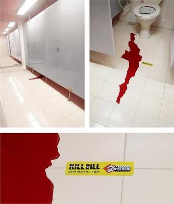 ちょっとやり過ぎなキル・ビルの広告