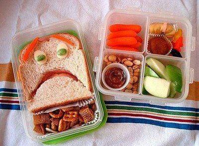 クリエイティブなお弁当の写真いろいろ