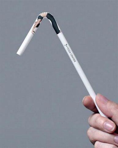 クリエイティブな広告の写真