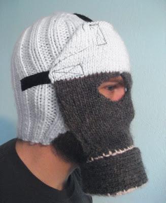 手編みガスマスク