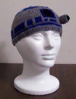 R2D2風ビーニー帽子