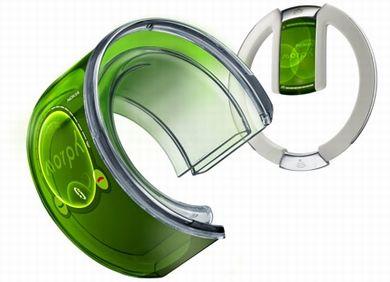 Nokiaのグニャグニャに曲がるというコンセプトの携帯「Morph」
