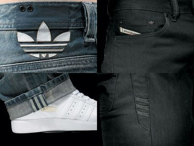 addidas denim