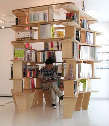 本に囲まれるための本棚