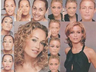 女の化粧が怖くて堪らなくなる写真