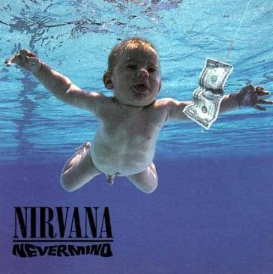 Nirvanaのジャケの子供が大きくなったようです