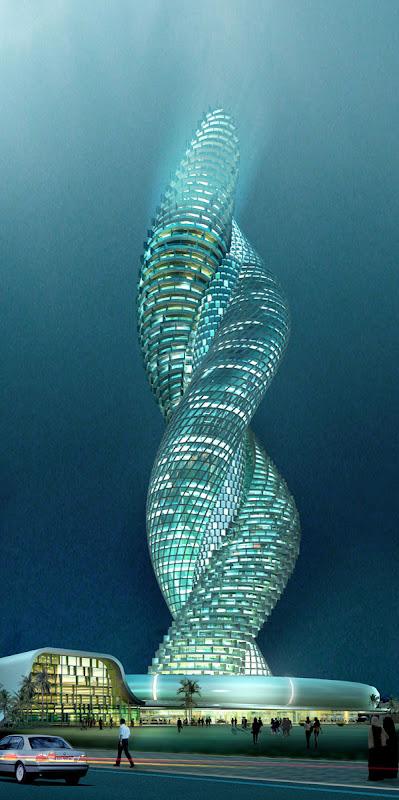 クウェートに建設予定のコブラタワー