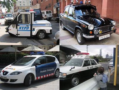ちょっと変わった世界各国のパトカーの写真いろいろ