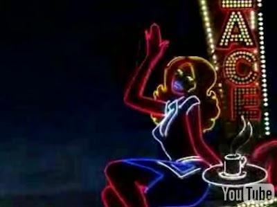 ネオンで描かれた海外の面白CM「Lux Neon Girl」