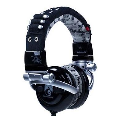 ゴツくてかっこいいヘッドホン「Skullcandy G.I. Headphones」
