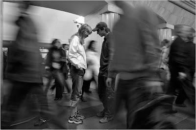 都会の雑踏なイメージを混めた写真いろいろ