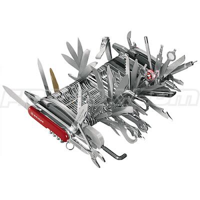 ちょ、やりすぎなSwiss Army Knife