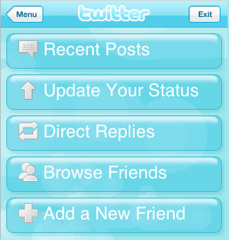 Twitter For iPhone Application