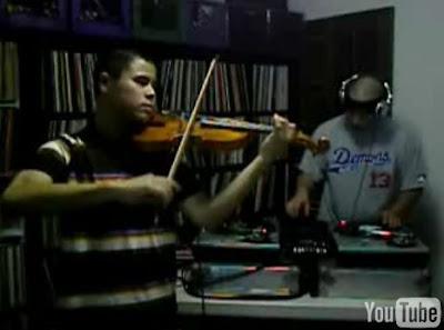 ヒップホップとバイオリンのマッシュアップ映像 - Hip-Hop Violin