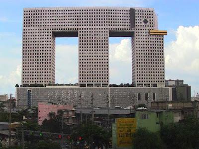 バンコクのエレファントビルディングがかわいい
