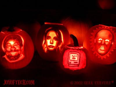 Geek Pumpkinな人が作るカボチャアートがすごい