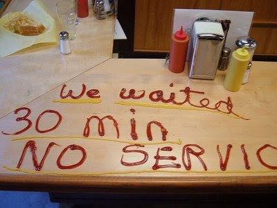 サービスの悪いお店に対して客がしたこと