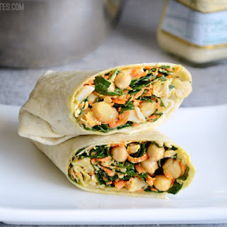 Chicken Kale Caesar Wraps Recipe