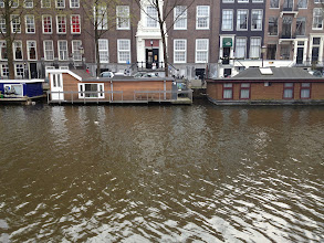 Photo: Houseboats on the canals