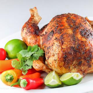 Peruvian Pisco Roast Chicken (Gluten-Free)