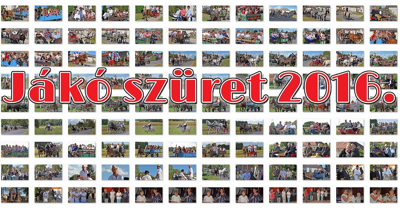Jákó Szüreti Felvonulás 2016